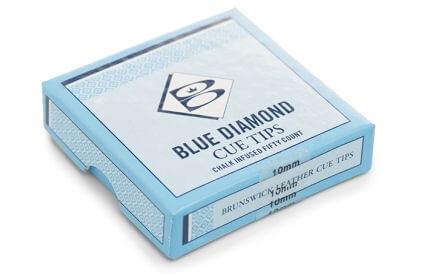 Blue Diamond Leather Tips