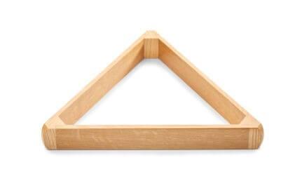UK Made Hardwood triangles 2