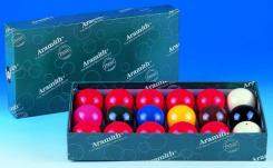 Aramith Snooker Balls 2 with 10 red