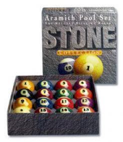 Aramith 'Stone' American Pool Balls