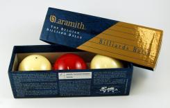Aramith Tournament Champion English Billiards Balls (Spot White)