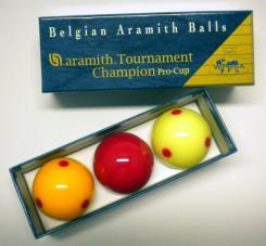 Aramith Tournament Champion Super Pro Cup Billiard Balls