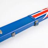 Geordie Blue Union Jack Cue Case