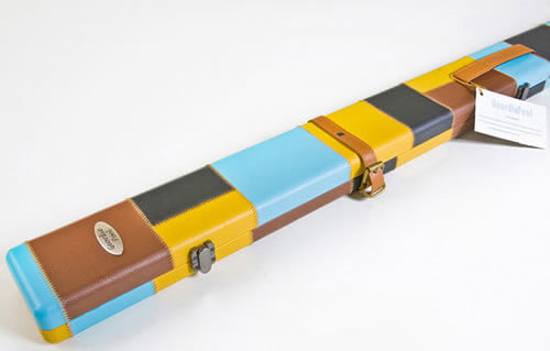 Geordie Multi Coloured Pool Cue Case