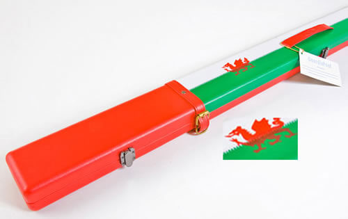 Geordie Welsh Dragon Cue Case