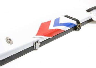 Geordie White Arrows Cue Case