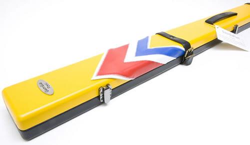 Geordie Yellow Arrows Cue Case