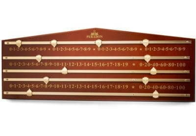 Mahogany Coloured Marking Board