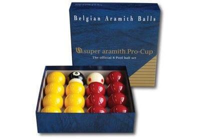 Super Aramith Pro Cup League Pool Balls