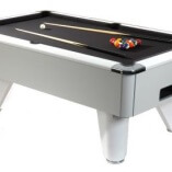 Supreme Pool Winner Pool Table (White)