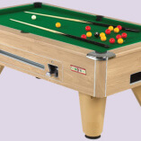 Supreme Pool Winner Pool Table oak