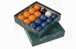 Aramith Premier Blue & Yellow English Pool Balls