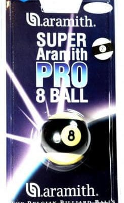 Aramith Super Pro 8 ball Striped