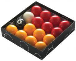 PowerGlide Value Red and Yellow Pool Balls 2 14